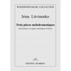 Irina Litvinenko: Trois pièces mélodramatiques