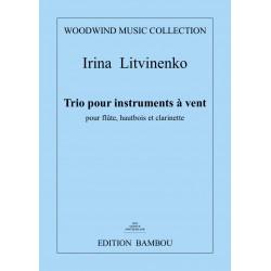 "Irina Litvinenko ""Trio for flute, oboe and clarinet"""