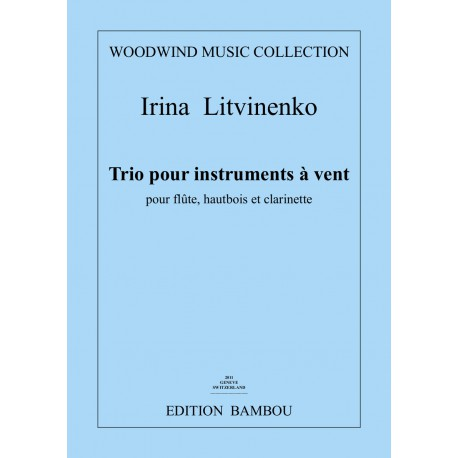 Trio for flute, oboe and clarinet