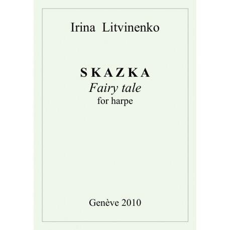"""Irina Litvinenko """"Skazka"""" pour harpe"""